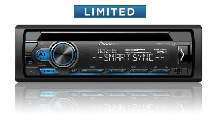 Pioneer DEH-S4120BT CD Player with Bluetooth and Pioneer Smart Sync