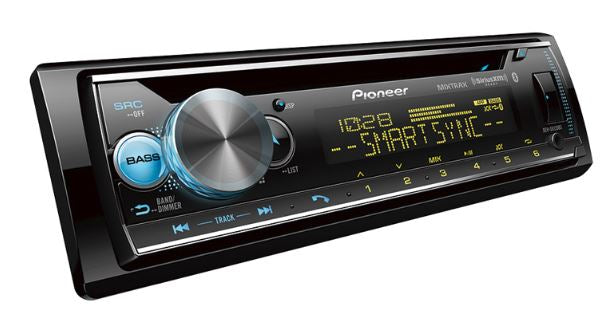 Pioneer DEH-S6120BS CD Receiver with AM/FM Tuner Bluetooth - Freeman's Car Stereo