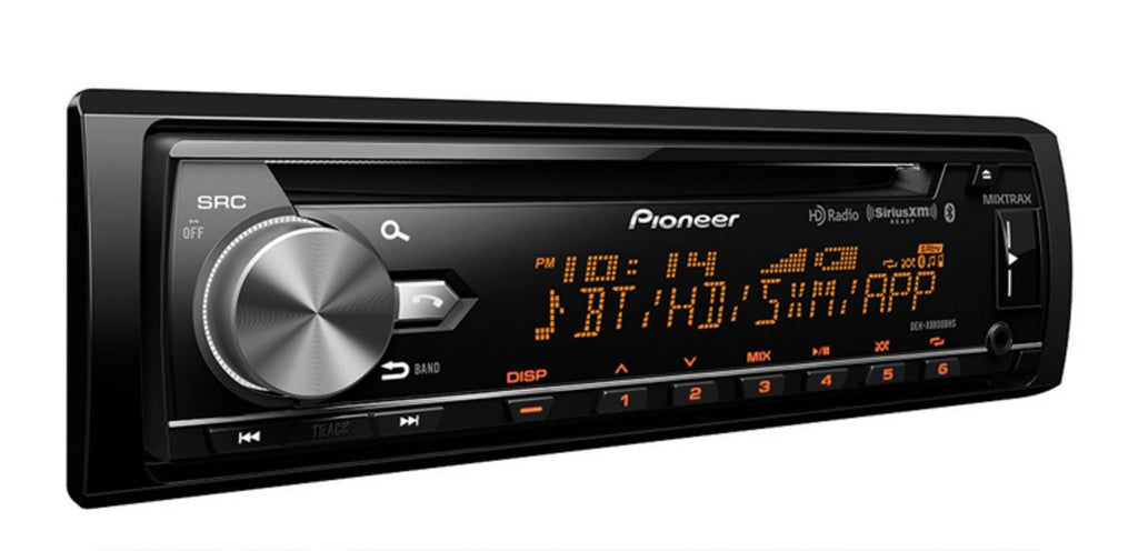 Pioneer DEH-X8800BHS - CD Receiver with enhanced Audio Functions