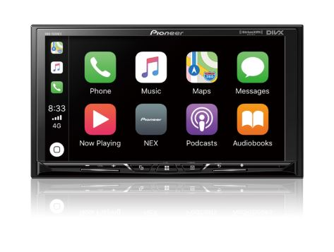 "Pioneer DMH-1500NEX Digital 7"" Multimedia Video Receiver with Apple CarPlay™, Android Auto™ - Freeman's Car Stereo"