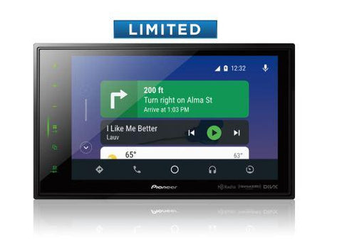 "Pioneer DMH-1500NEX Digital 7"" Multimedia Video Receiver with Apple CarPlay™, Android Auto™"