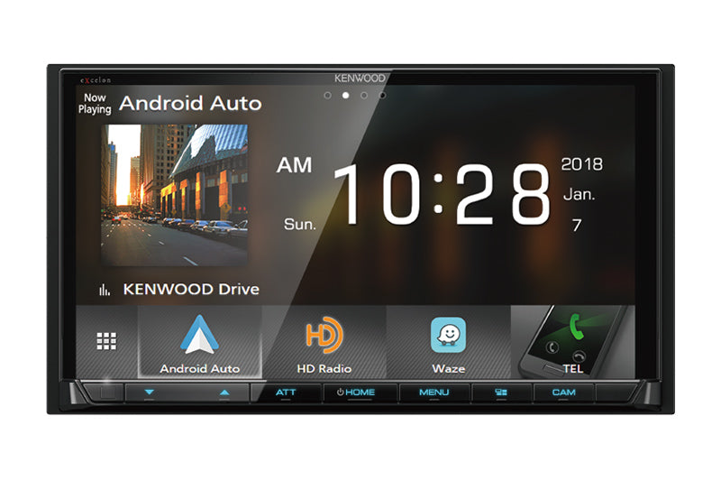 "Kenwood DMX905S 6.95"" Digital Multimedia Receiver - Apple CarPlay - Android Auto - Freeman's Car Stereo"