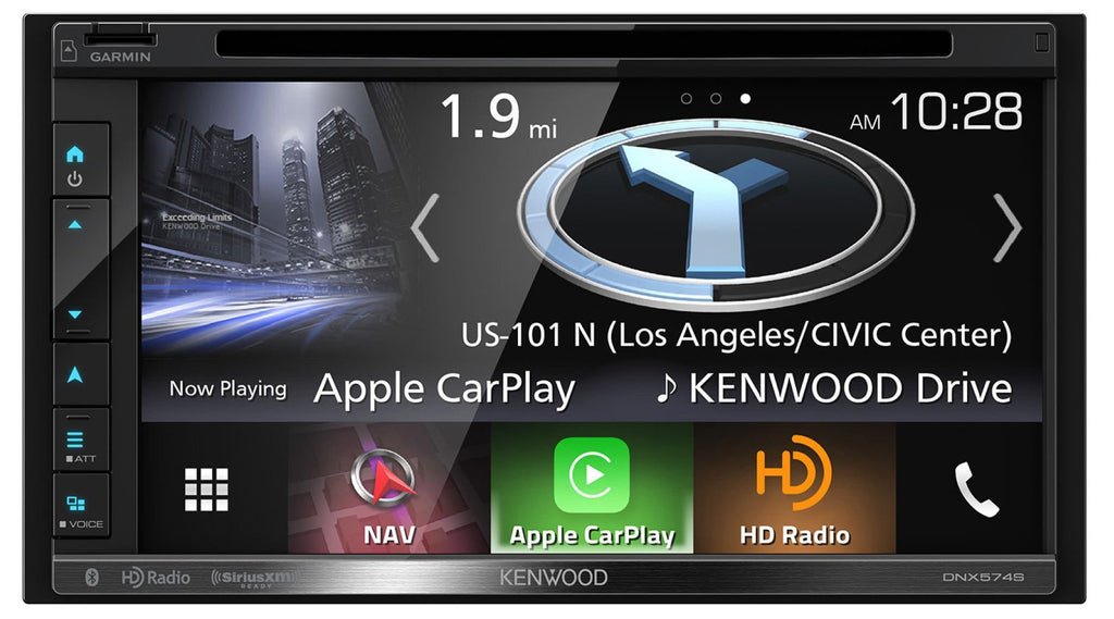 "Kenwood DNX574S 6.8"" Navigation Receiver - Freeman's Car Stereo"