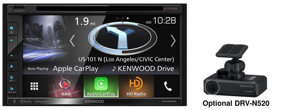 "Kenwood DNX694S 6.8"" Multimedia Receiver - Freeman's Car Stereo"