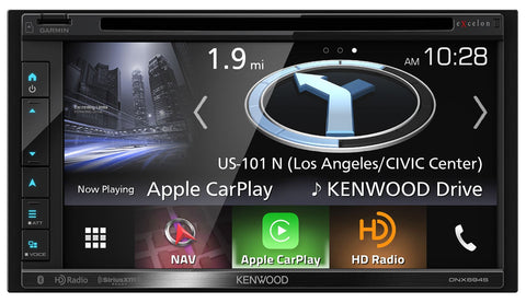 "Sony XAV-AX5000 6.95"" CarPlay/Android Auto Media Receiver with HD14UDDBN Harley DDin Kit"