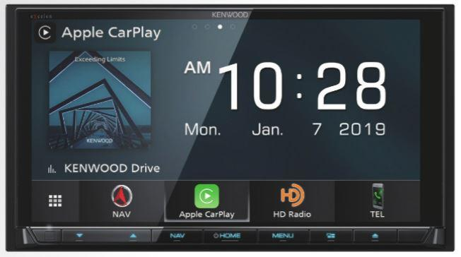 "Kenwood Excelon DNX996XR 6.8"" DVD Navigation Receiver with Apple CarPlay and Android Auto - Freeman's Car Stereo"