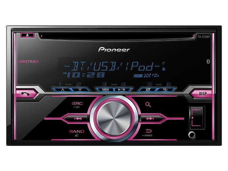 Pioneer FH-X520UI - 2-Din CD Receiver - Freeman's Car Stereo