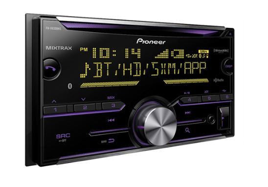 Pioneer FH-X830BHS - 2-Din CD Receiver - Freeman's Car Stereo