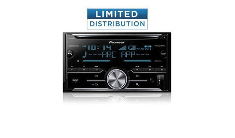 "Pioneer AVH-201EX Multimedia DVD Receiver with 6.2"" WVGA Display, Built-in Bluetooth® and Remote Control Included"