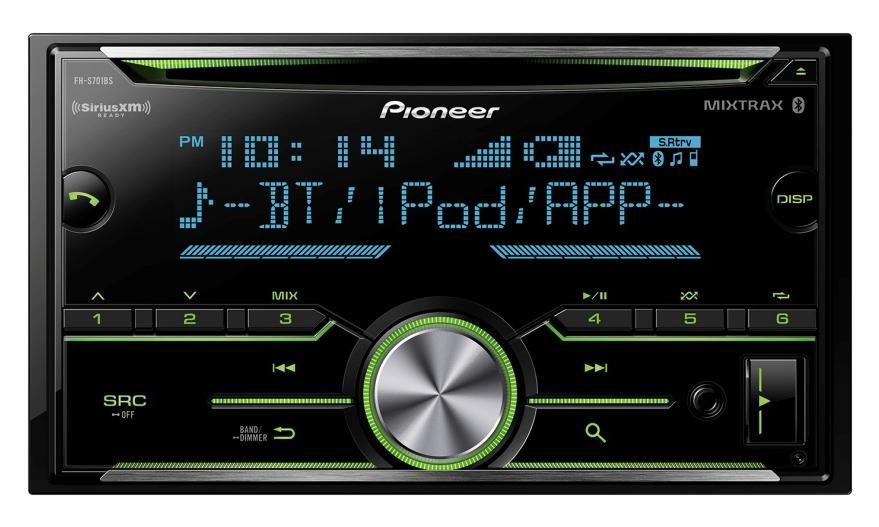 Pioneer FH-S701BS - Double DIN CD Receiver with Enhanced Audio Functions - Freeman's Car Stereo