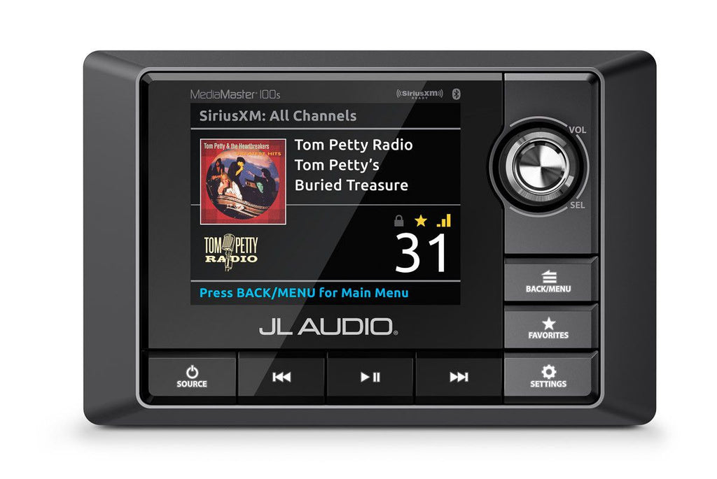 JL Audio MediaMaster MM100s - A Full-Featured Weatherproof Audio Source Unit - Freeman's Car Stereo