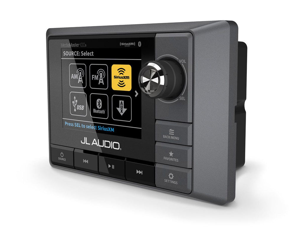 JL Audio MediaMaster MM100s - A Full-Featured Marine Audio Source Unit - Freeman's Car Stereo