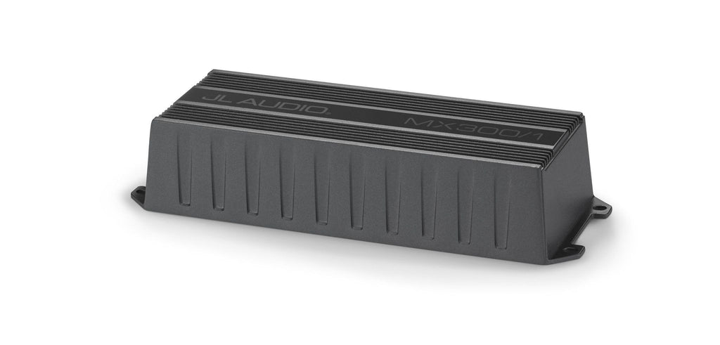 JL Audio MX300/1: Monoblock Class D Wide-Range Amplifier, 300 W