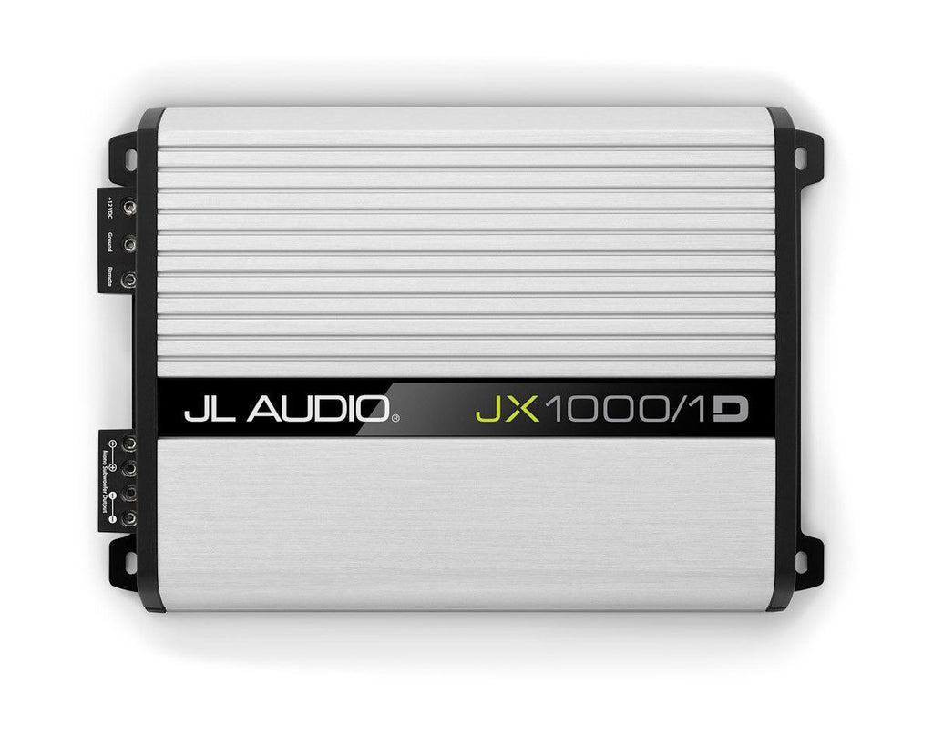 JL Audio JX1000/1D - Monoblock Class D Subwoofer Amplifier - Freeman's Car Stereo