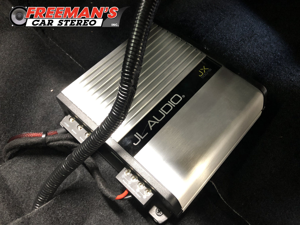 JL Audio JX500/1D - Monoblock Class D Subwoofer Amplifier - Freeman's Car Stereo