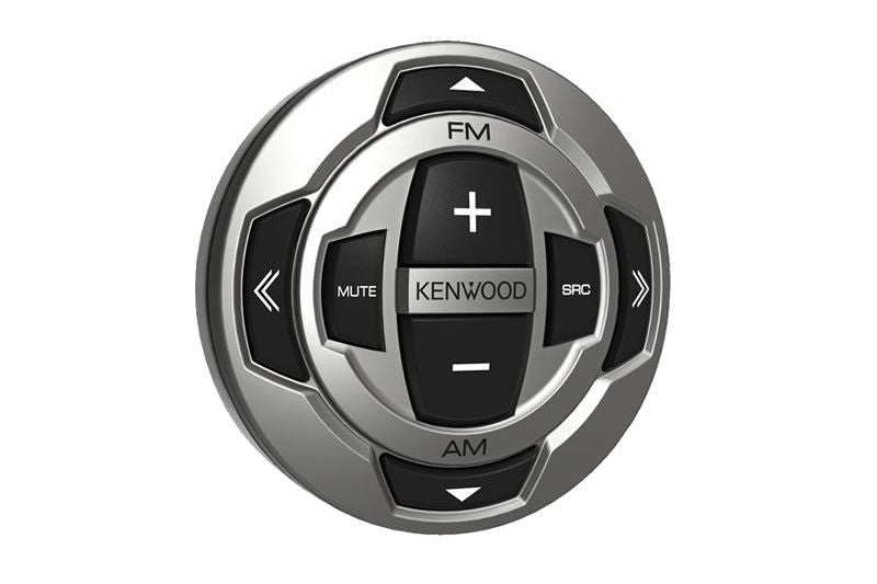 KENWOOD KCA-RC35MR - Rounded Wired Marine Remote Control with IPX7 protection - Freeman's Car Stereo