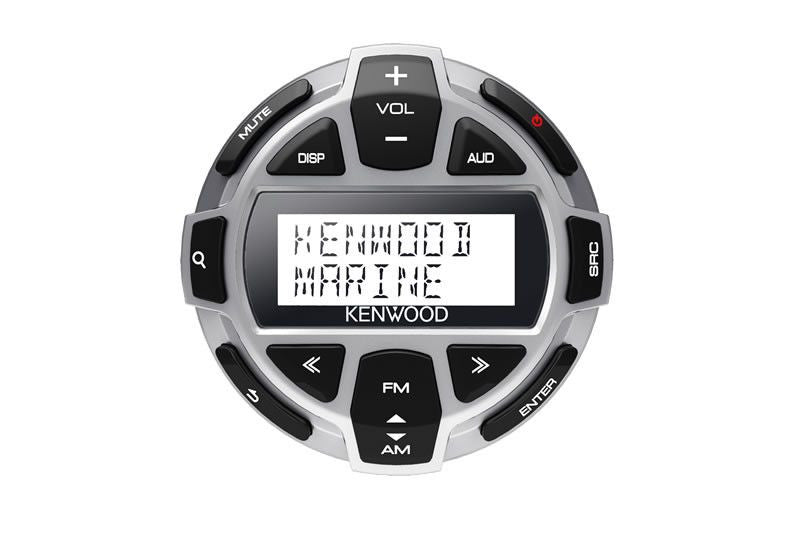 KENWOOD KCA-RC55MR - Rounded Wired Marine LCD Remote Control with IPX7 protection - Freeman's Car Stereo