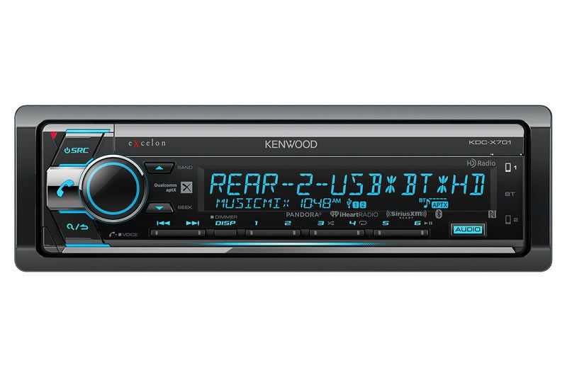 Kenwood KDC-X701 eXcelon - CD Receiver - Freeman's Car Stereo
