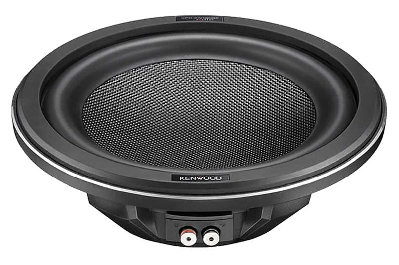 "Kenwood Excleon KFC-XW1200F 12"" Slim Subwoofer - Freeman's Car Stereo"