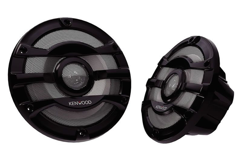 "KENWOOD KFC-2053MRB - 8"" 2-way Marine Speaker System - Freeman's Car Stereo"