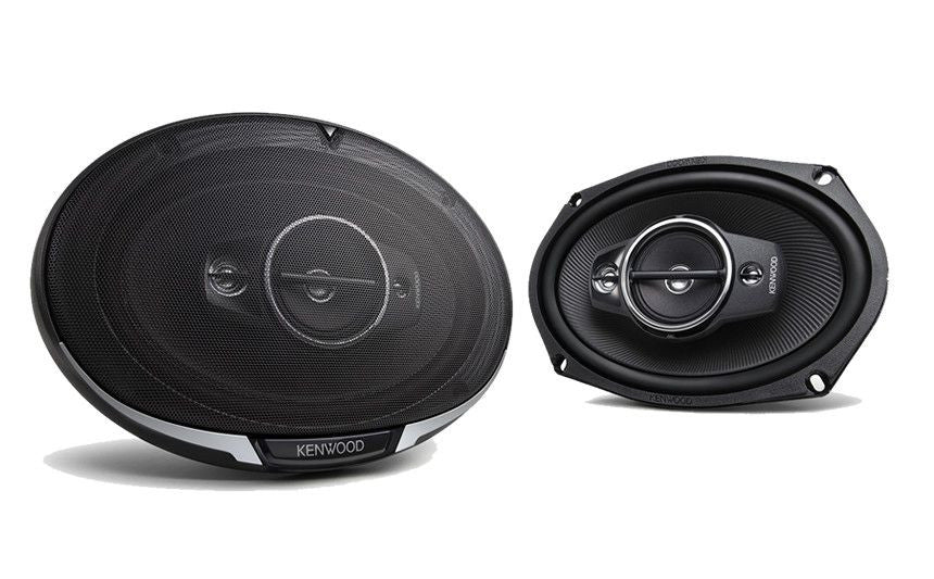"KENWOOD KFC-C6895PS- <br>6x8"" Custom Fit 3-way Speaker System - Freeman's Car Stereo"