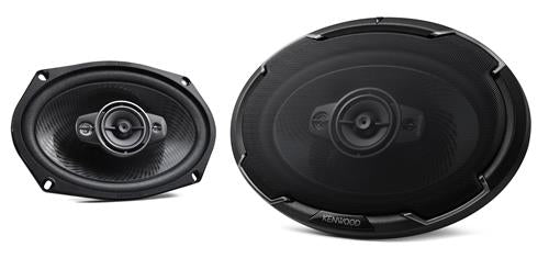 "Kenwood KFC-6986PS 6x9"" 4-Way Performance Series Speaker System, 600W Max Power"