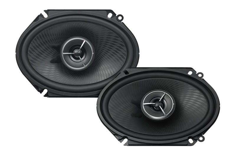 "KENWOOD eXcelon KFC-X683C - 6""x8"" 2-way car speakers - Freeman's Car Stereo"