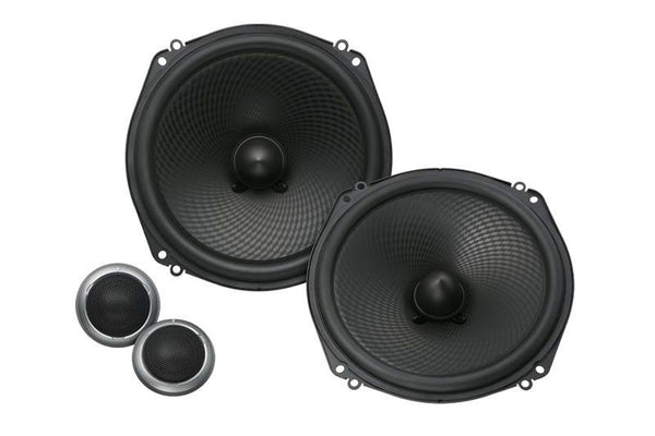 "Kenwood eXcelon KFC-XP184C - 7"" Oversized Custom Fit Component Speaker System - Freeman's Car Stereo"