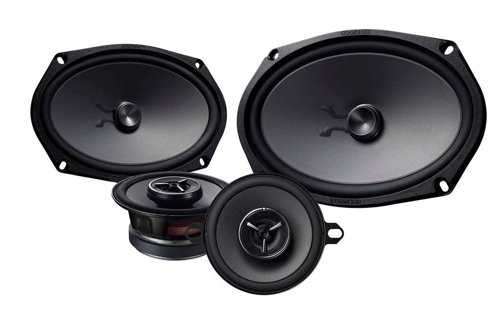 Kenwood eXcelon KFC-XP6903C 6x9 Shallow Woofer and 3 5