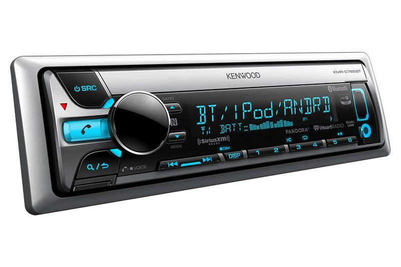 KENWOOD KMR-D765BT - Marine CD Receiver with Built-In Bluetooth - Freeman's Car Stereo