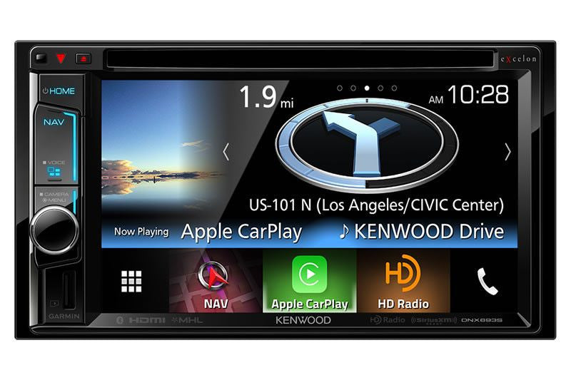 Kenwood DNX693S  - Navigation Receiver - Freeman's Car Stereo