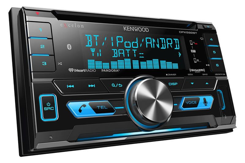 Kenwood Dpx592bt 2 Din Cd Receiver Freeman S Car Stereo