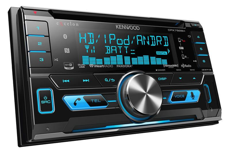 Kenwood DPX792BH- 2-Din CD Receiver - Freeman's Car Stereo