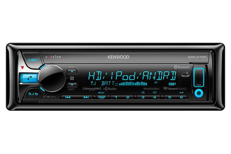 Kenwood KDC-X700 - 1-Din CD Receiver - Freeman's Car Stereo