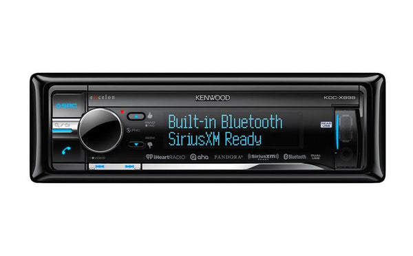 Kenwood KDC-X898 - 1-Din CD Receiver - Freeman's Car Stereo