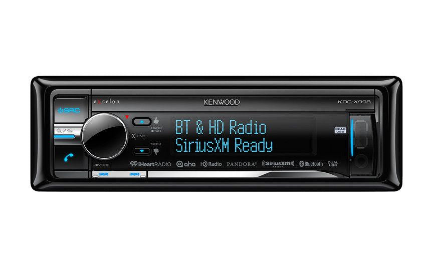 Kenwood KDC-X998 - 1-Din CD Receiver - Freeman's Car Stereo