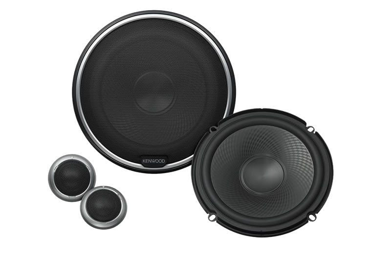 "Kenwood KFC-P709PS - 6.5"" Performance Series Component Speaker System - Freeman's Car Stereo"