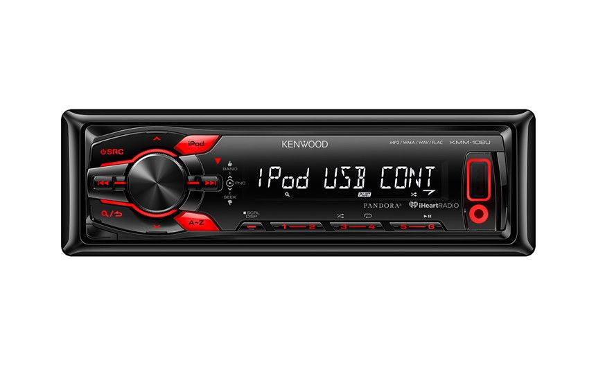 Kenwood KMM-108U Car Digital Receiver - Freeman's Car Stereo