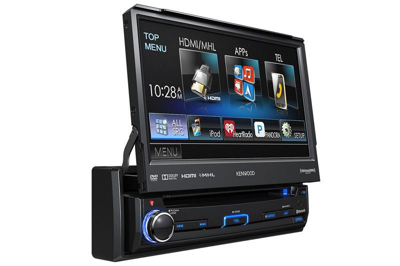 Kenwood KVT-7012BT - 1-Din Multimedia Receiver - Freeman's Car Stereo