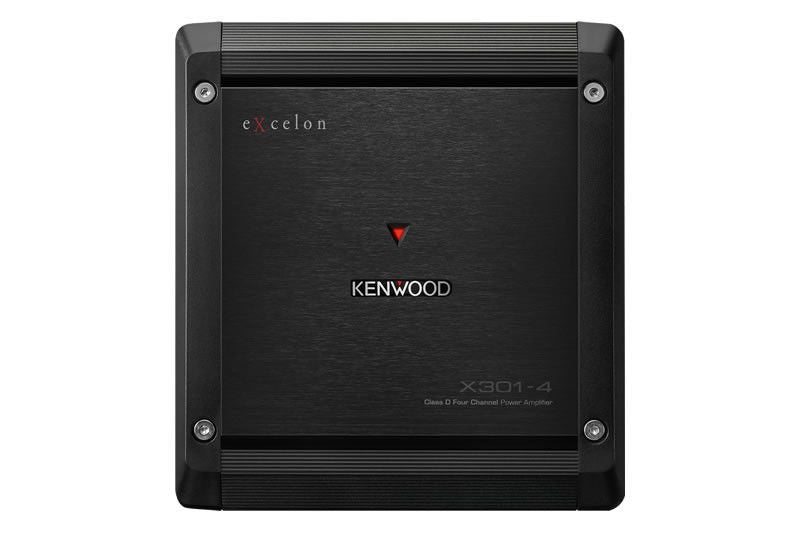 Kenwood X301-4 - Class D 4-Channel Amplifer - Freeman's Car Stereo