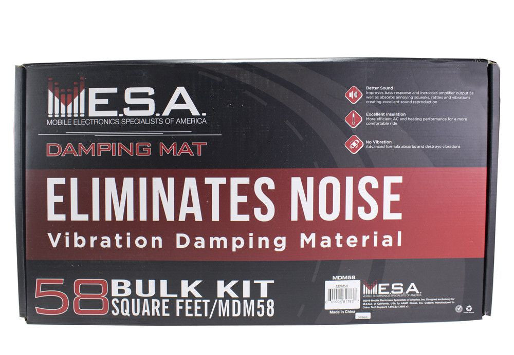 "MESA MDM58 - Bulk Kit 58 sq-ft (Kit includes (30) 12""x23"" pieces) - Freeman's Car Stereo"