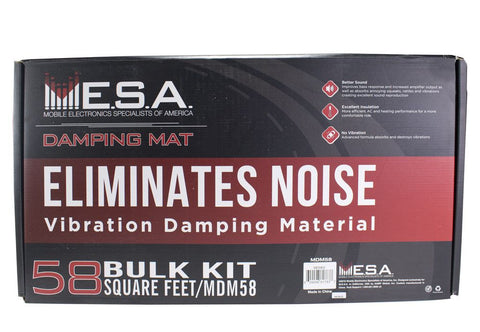 "MESA MDMOK - Foam Damping Mat 12sq-ft (Kit includes (1) 32"" x 54"" piece)"