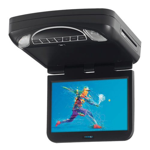 "Voxx MTG10UHD - 10.1"" Digital High Def Overhead Monitor System with DVD and HD Inputs"