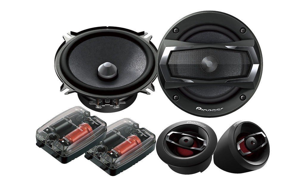 "Pioneer TS-A1305C - 5-1/4"" Component Speaker Package - Freeman's Car Stereo"