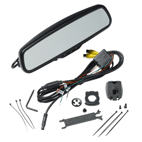 Audiovox Replacement Rear View Mirror +Backup Camera Package - Freeman's Car Stereo
