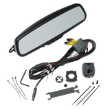 Audiovox Replacement RVM200 Rear View Mirror +ACAM2 Backup Camera Package - Freeman's Car Stereo