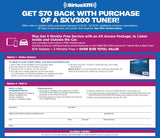 SiriusXM SXV300 Connect Vehicle Tuner *70.00 Mail-In-Rebate* + 3 Months FREE - Freeman's Car Stereo