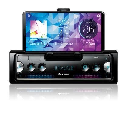 Pioneer SPH-10BT Digital Media Receiver With Cradle for Smartphone, Pioneer Smart Sync with Alexa