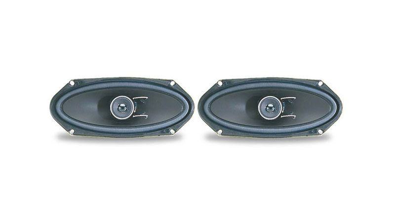 "Pioneer TS-A4103 - 4"" x 10"" 2-Way Rear Deck Mount Speaker - Freeman's Car Stereo"