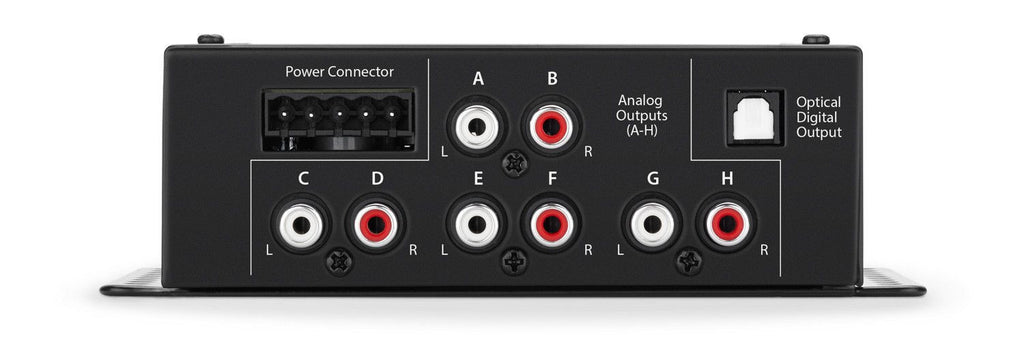 JL Audio TwK-88 - System Tuning DSP 8-ch. Analog + Digital INPUTS / 8-ch. Analog OUTPUTS - Freeman's Car Stereo